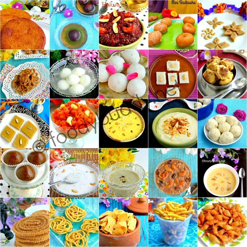 Easy Diwali Recipes 2015 / Diwali Sweets and Snacks Recipes
