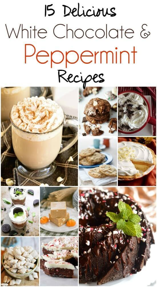 White Chocolate & Peppermint Recipes