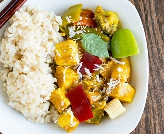 Asian Tofu Curry