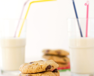 Triple chocolate chip cookies (eggless)