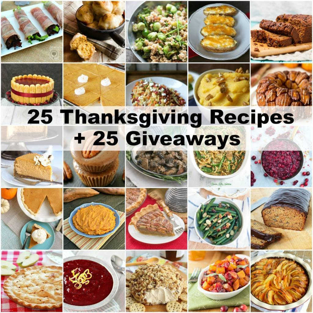 Sweet Potato Casserole Donut Holes + 25 Thanksgiving Recipes + 25 Giveaways