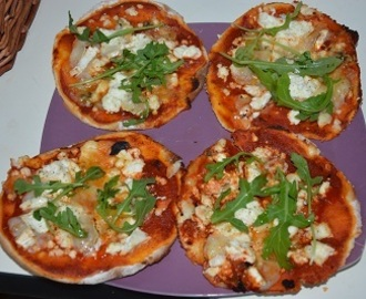 PIZZA POGACA, LA MINI PIZZA TURQUE