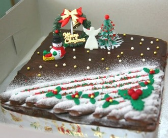 Christmas Chocolate Flourless cake