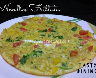 Noodles Frittata