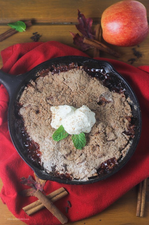 Skillet Apple Crisp {paleo, AIP}