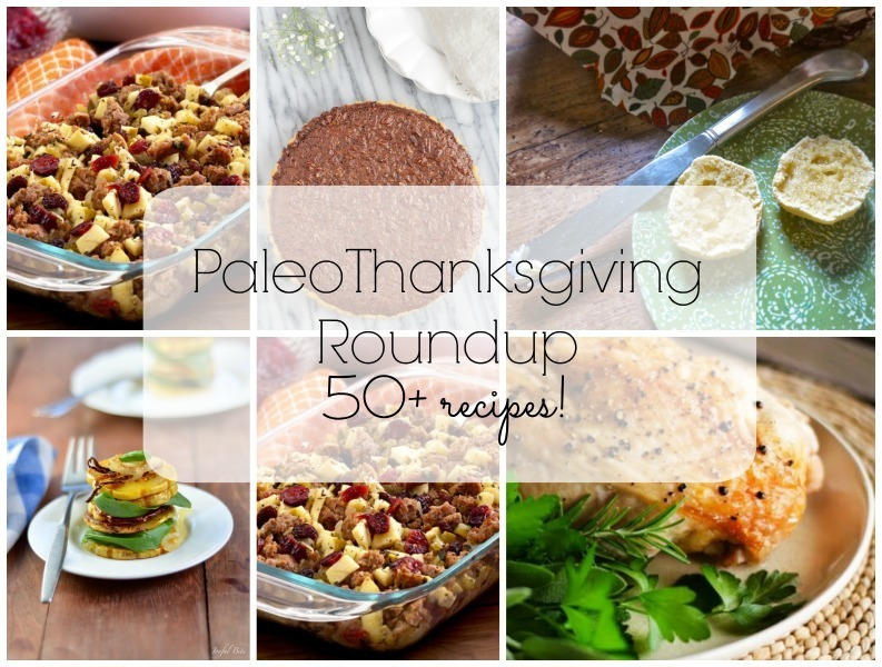 Paleo Thanksgiving Recipes Roundup 2015