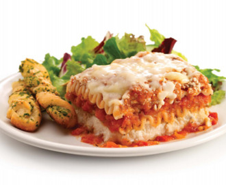 Balance Your Plate with Stouffer's Family-Size Lasagna with Meat & Sauce