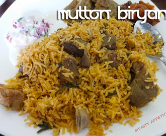Easy Mutton Biryani / Mutton Biryani Recipe / Spicy Biryani Recipes