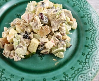 Curried Chicken Salad with Pecans & Cranberries