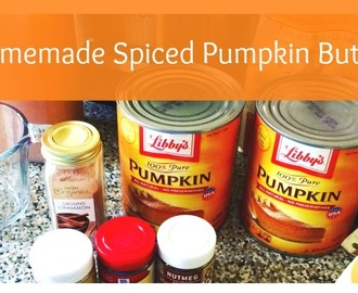 Homemade Spiced Pumpkin Butter