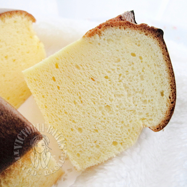 japanese cream cheese hot cross chiffon cake ~ highly recommended 日式奶油奶酪拜拜戚风蛋糕 ~强推