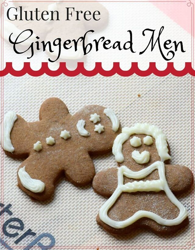Gluten Free Gingerbread Men for the Holidays