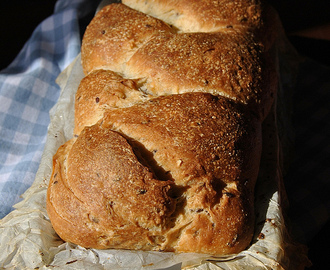 Flax Seed Bread With Olive Oil