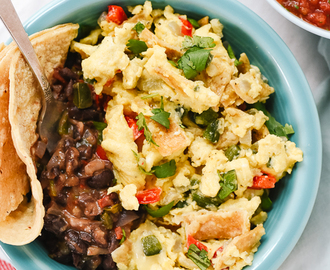 Migas with Black Beans & Austin Restaurant Guide