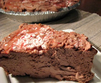 No-Bake Chocolate Peppermint Cheesecake plus Amazon Gift Card Giveaway