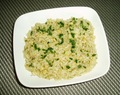 Brown Rice Pilaf with Pine Nuts
