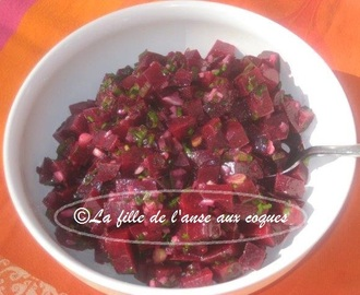 SALADE DE BETTERAVES