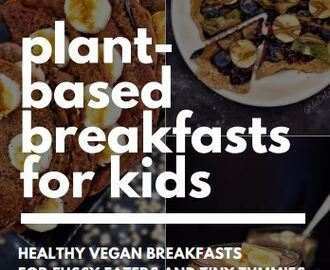 A review of Plant-Based Breakfasts for Kids (Kyra Howearth)