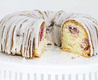 Coconut Lemon Raspberry Bundt Cake and a Christmas Week Giveaway