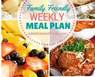 Thursday JEMs {Julie's Easy Meal Plans} 12/10/15