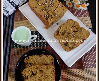 Eggless Dairy Free Whole Wheat Banana Quick Bread