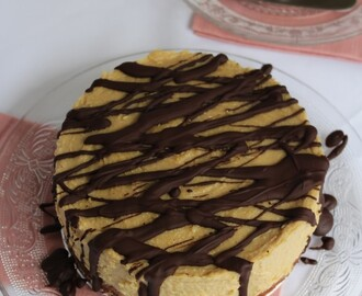Peanut Butter and Chocolate Vegan Cheesecake