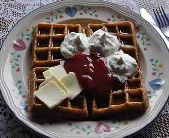 The Amish Cook:  The Art of Waffles