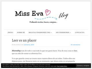 Miss Eva blogg