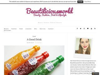 Beautiliciousworld | Beauty, Fashion, Food & Lifestyle