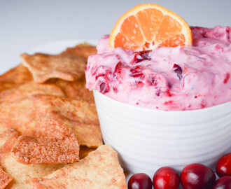 Cranberry Orange Greek Yogurt Dip With Chobani®