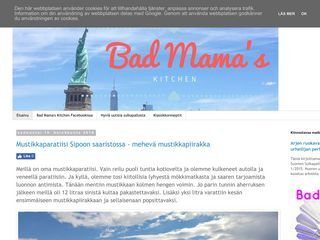 Bad mama's kitchen