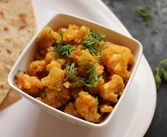 Cauliflower Sabzi Recipe, Gobhi Ki Sabji