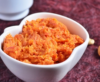 Easy carrot halwa recipe with condensed milk, easy gajar halwa recipe