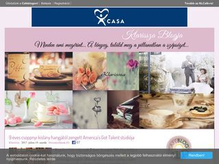 Klarissza falatozója/Family blog page