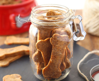 DIY HOLIDAY IN A JAR: Grain-Free Sweet Potato Dog Treats