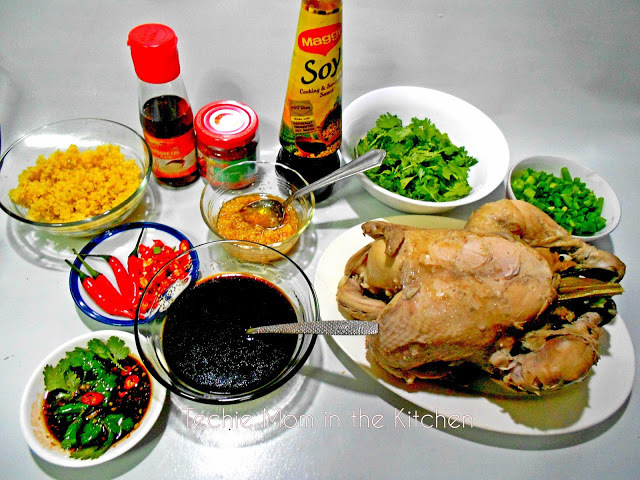 HAINANESE CHICKEN RICE or Chicken Rice (Updated Version)