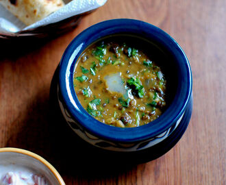 Restaurant style Dal Makhani, NO CREAM