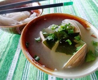 Simple Clam Miso Soup