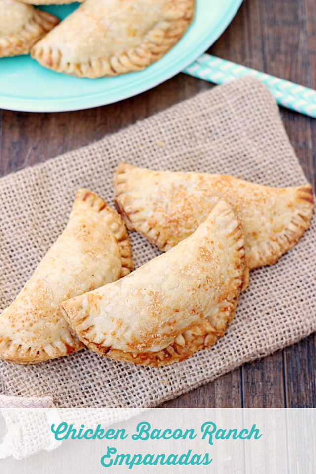 Chicken Bacon Ranch Empanadas