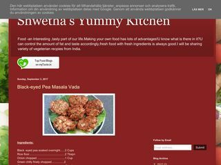 Shwetha's Yummy Kitchen