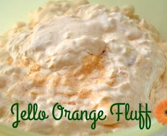 Mandarin Orange Jello Fluff Salad
