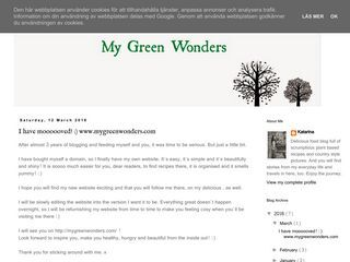 My Green Wonders