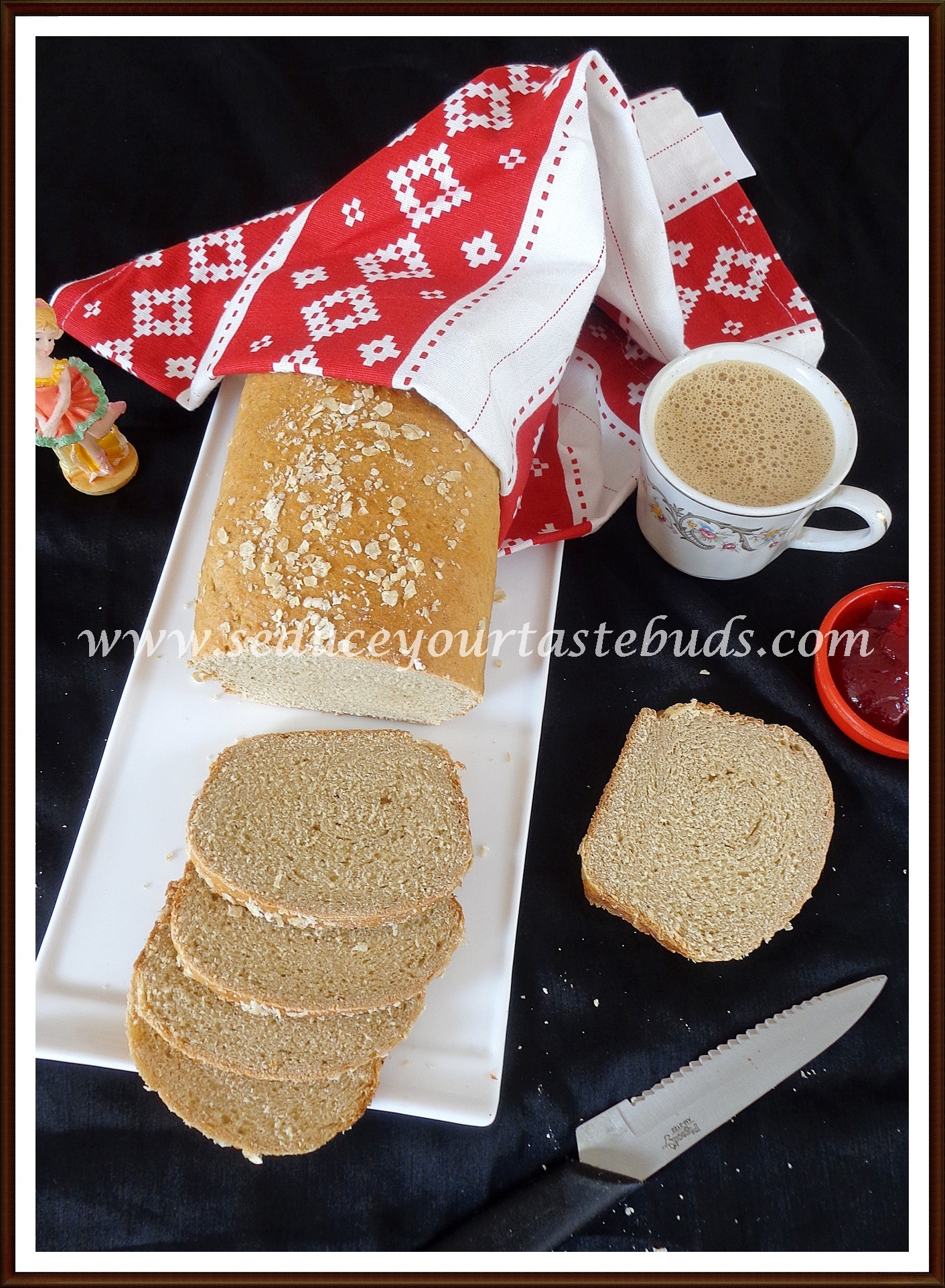 Yeasted Banana Sandwich Bread