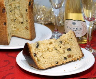 Italian Panettone and Sparkling Wine #WinePW