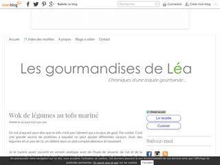 Les gourmandies de Léa