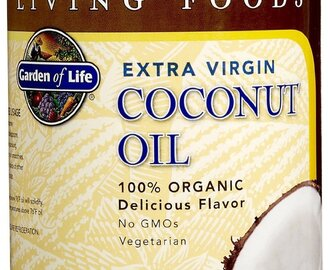Finally, I can recommend a 3rd Brand of Coconut Oil – Garden of Life 100% Organic Extra Virgin Coconut Oil – Living Foods
