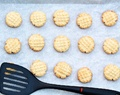Almond Flour Shortbread Cookies (low sugar and really easy)