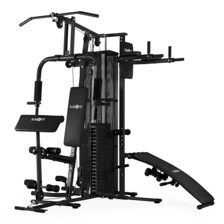 Ultimate Gym 5000 multifunktionell fitness-station svart