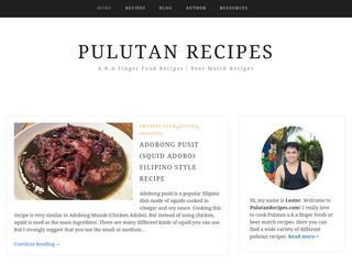 Pulutan Recipes