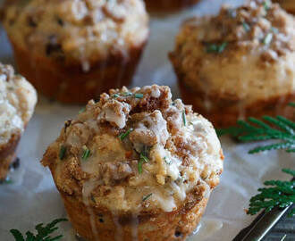 Greek Yogurt Christmas Morning Muffins
